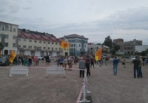 В Сортавала начался митинг за прямые выборы мэра