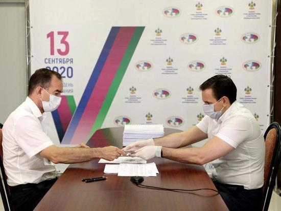 Вениамин Кондратьев подал документы для регистрации в предвыборной гонке