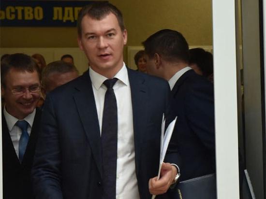 Дегтярев заявил о неожиданности своего назначения врио губернатора Хабаровского края