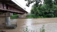 На Кубани из-за дождей несколько рек вышли из берегов