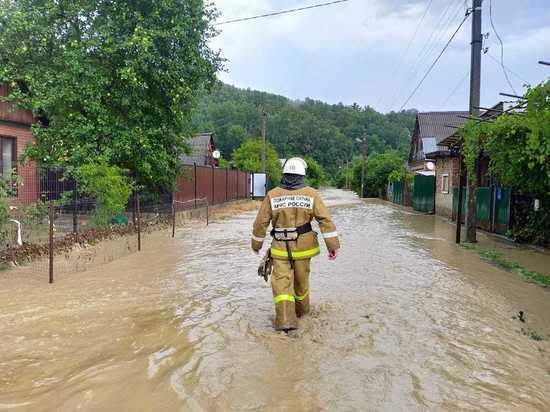 После череды аномальных дождей кубанские реки вышли из берегов