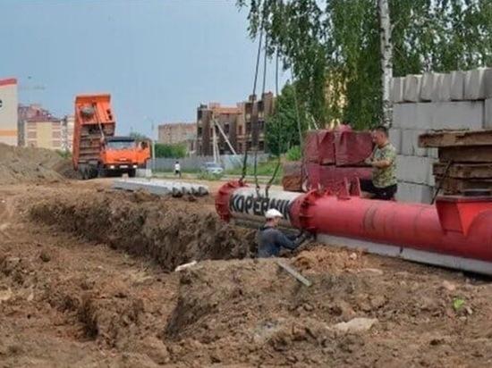 В Марий Эл в поселке Медведево начали строить школу на 825 мест