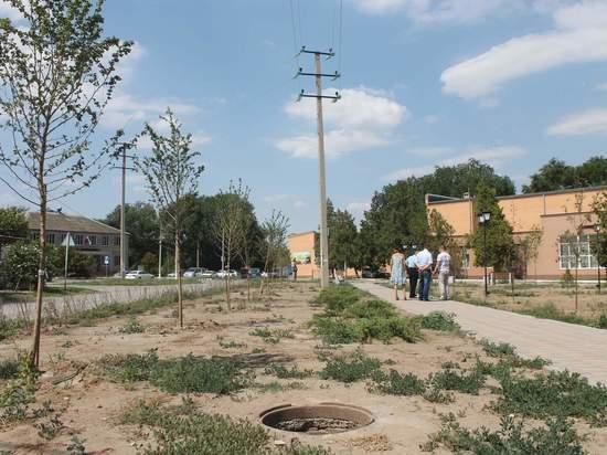 На Ставрополье подрядчик получил претензию после благоустройства