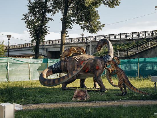 Открытие великолукского Динопарка состоится в День города