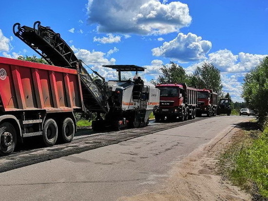 В Ивановской области начался ремонт на трассах Пучеж-Мыт и Красное-Майдаково-Парское