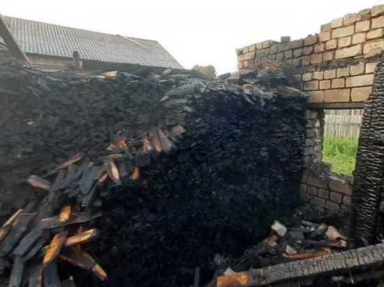 В Марий Эл пожарные спасли жилой дом от огня