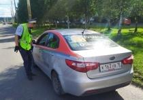 В Петрозаводске сотрудники Госавтоинспекции массово проверяют такси