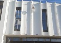 У Национального  театра Тувы обновился фасад