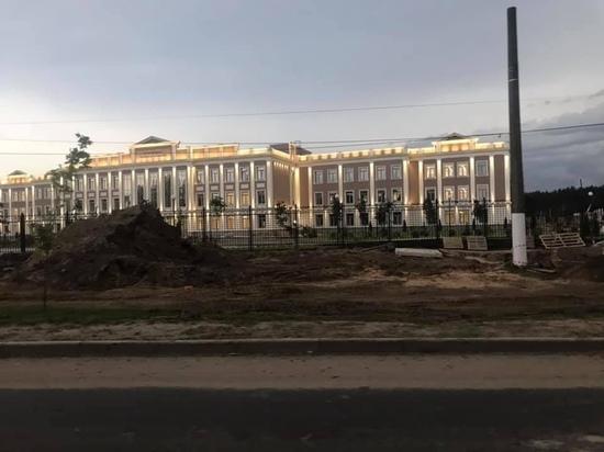 В Твери корпуса нового Суворовского училища засверкали огнями
