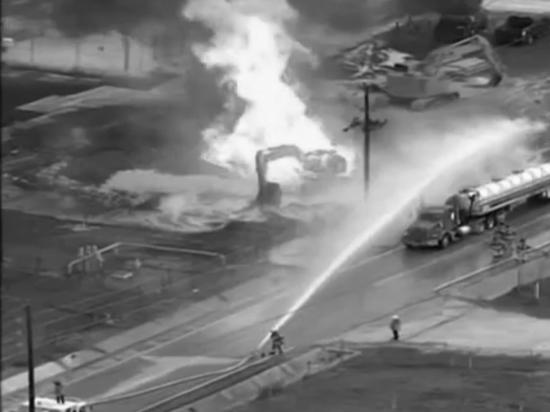 Взрыв прогремел на заводе по производству СПГ в Техасе