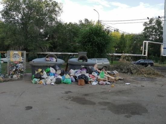 Оренбуржцы мало платят за вывоз мусора