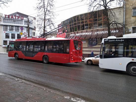 Закупленные в 2019-м кировские троллейбусы оказались плохого качества