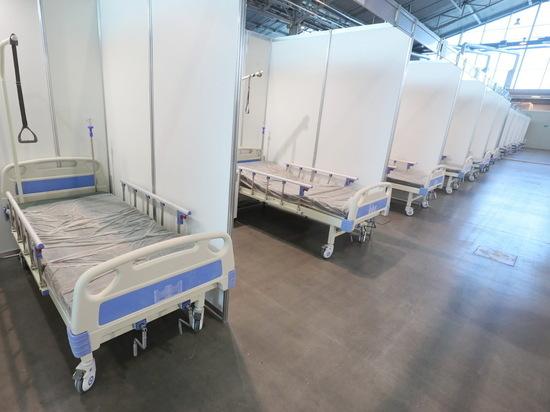 Другие павильоны Ленэкспо к осени станут ковидным госпиталем