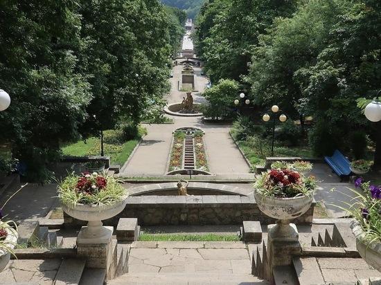 Историческую часть Каскадной лестницы Железноводска сделают доступной