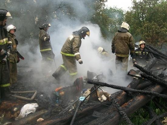В Юрьевце пожар закончился трагедией — погиб мужчина