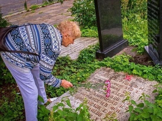 Могилу своего отца в Шуе нашла жительница Мончегорска