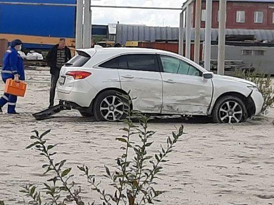 В ДТП на промзоне Ноябрьска пострадали два человека