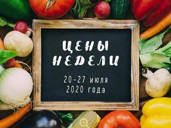 В Хакасии подешевели огурцы, и подорожала картошка