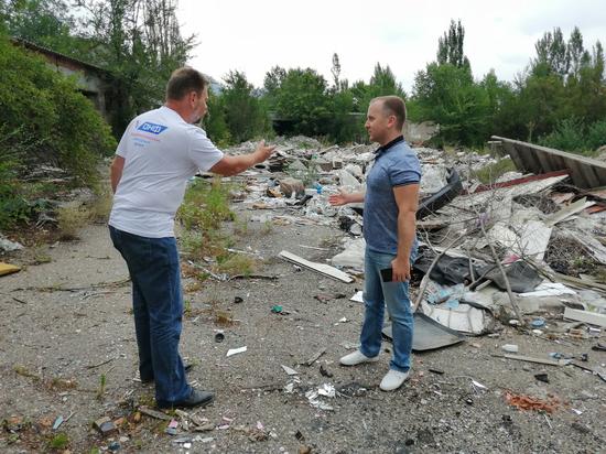 Общественники нашли несанкционированные свалки в курортном Пятигорске