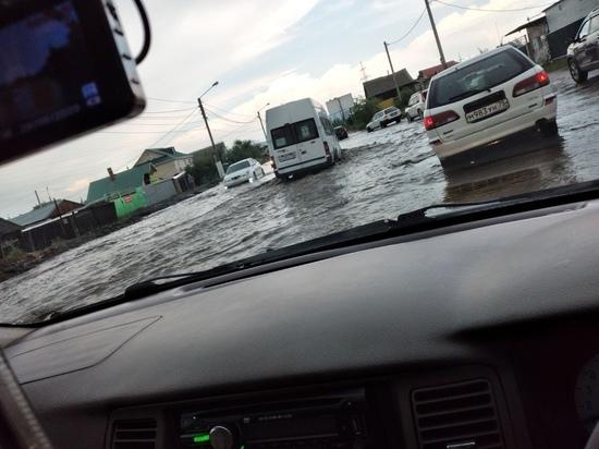«Море» на ул Ивановской в Чите откачивают в постоянном режиме