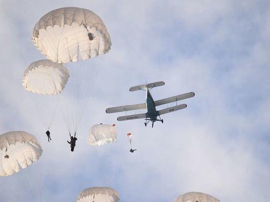 В Чехове решили провести показ парашютной техники