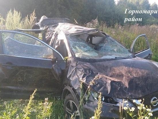 На трассе в Марий Эл автоавария унесла жизнь пассажира иномарки