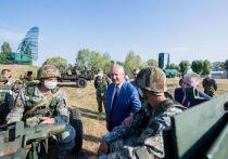 Президент Молдовы принял участие в учениях «Чистое небо-2020»