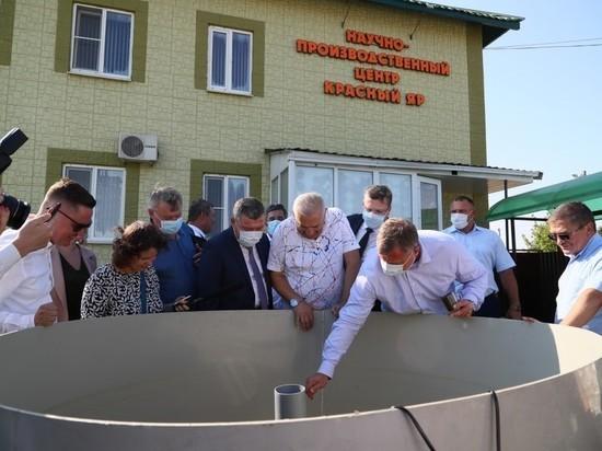 Красноярский район занимает первое место в Астраханской области по удельному весу в общей сумме инвестиций в основной капитал