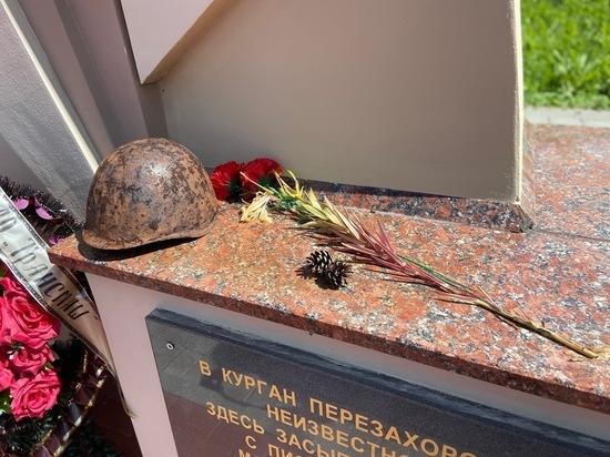 Тульские поисковики нашли останки советского летчика