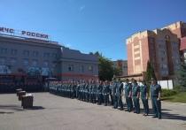 Пожарные-новобранцы принесли присягу в Туле