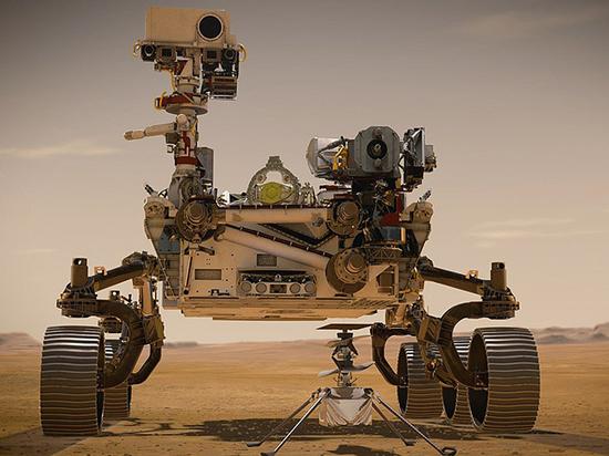Американцы отправились искать следы жизни на Марсе