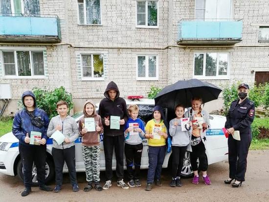 Акция «Безопасный двор» прошла в Новосокольниках