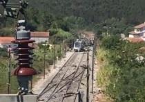 В Португалии произошло крушение высокоскоростного поезда с пассажирами