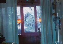 Киногруппа, снимающая фильм «Вперед, Локо!» создала в Ярославле снегопад летом