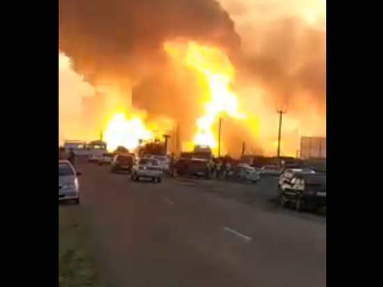 АЗС взорвалась в Краснодарском крае, есть раненые