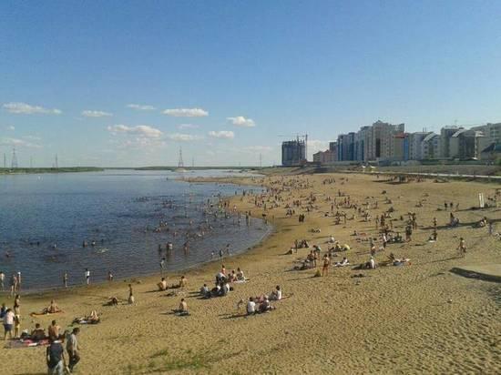 Пляж в Якутске закроют 3 августа
