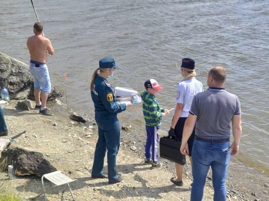 Смертность на воде в Свердловской области в 2,5 раза превышает показатели прошлого года