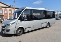 Современный автобус для перевозки пассажиров появился в одном из районов Тверской области