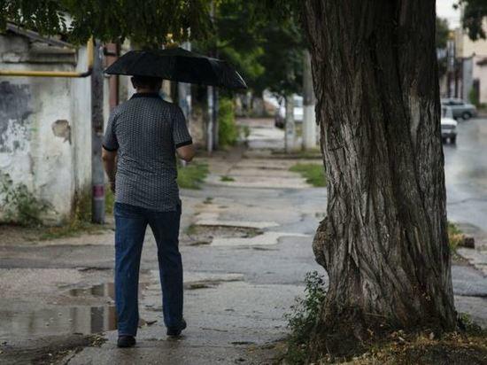 В Симферополе предупредили о ливнях и граде 1 августа