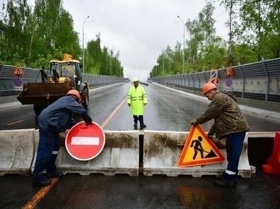 «Простой» Добрынинского моста в Ярославле продлили