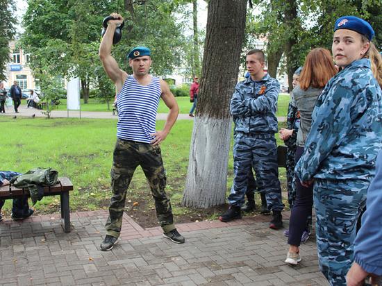 Десантникам Тверской области разрешили отметить свой праздник