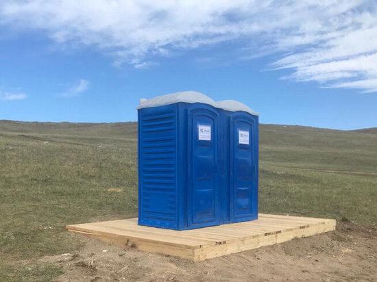 На Ольхоне для туристов установили санитарные зоны с туалетами