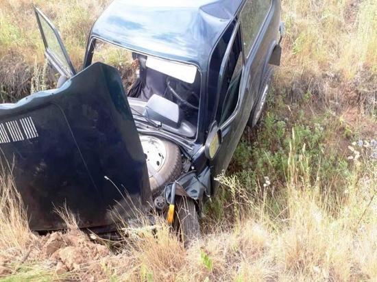 На автодороге «Подъезд к городу Оренбургу»  бузулучанин попал в аварию