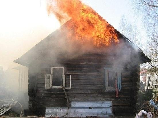 И опять в Ивановской области сгорел садовый домик