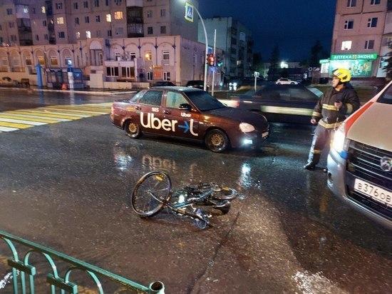В Ноябрьске «Лада» сбила велосипедистку на «зебре»