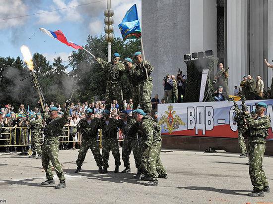 Десантников поздравил Владимир Путин