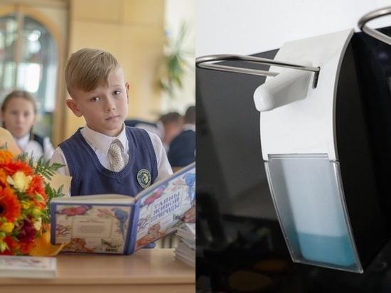 Педиатр рассказал, как использовать санитайзеры в школах