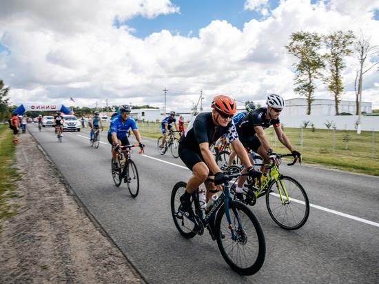 Курский губернатор принял участие в чемпионате по шоссейному велоспорту