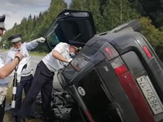 47-летний житель Златоуста погиб на трассе в Свердловской области