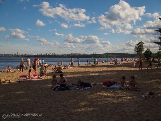 Администрация Петрозаводска пообещала благоустроить современный городской пляж